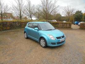 Suzuki Swift GL 5dr (turquoise) 2009