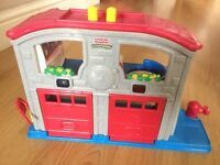 Fisher price fire station
