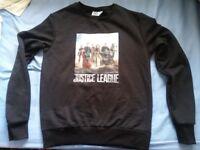 Justice League Marvel DC Comic Heroes Sweatshirt Jumper Crew Neck Top