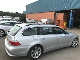 BMW 525D 2.5 DIESEL ** AUTOMATIC ** NAVIGATION ** LEATHER SEATS ** 12 MONTH MOT** TOURING ** ESTATE