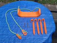 Garden swing seat / ground pegs / mounting hocks CAN DELIVERY