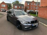 2009 BMW 3 SERIES 335d M SPORT TOURING AUTO LCI FACELIFT ESTATE GREY PAN ROOF MAY PX