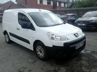 2009 PEUGEOT PARTNER VAN NEW SHAPE, FULL 12 MONTHS MOT AND WILL BE CLEANED FOR THE NEW OWNER