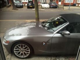 BMW FOR SALE - Z4 3.0i convertible - £3,750 ONO - powerful car - perfect for summer