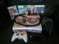 Xbox 360 60gb with 19 games including 5 call of dutys and Dirt 3
