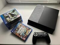 Sony PS4 500gb with 7 games