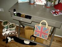 Beautiful French Shabby and Chic Console/ Dressing/ Writing Table
