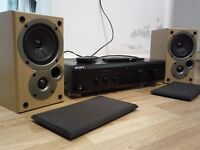 SONY AMP / DENON SPEAKERS