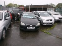 AUTOMATIC VAUXHALL CORSA LOW MILEAGE AT ONLY 67,000
