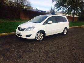 VAUXHALL ZAFIRA 1.6 exclusive 2013 7 SEATER 1 OWNER LOW MILES £6495finance from £159p/m