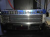 Behringer Ultragraph FBQ 3102 and Lexicon MX200 Sound Processor