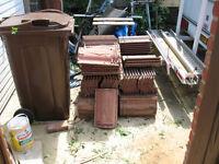 130 Roof Tiles - Unused