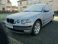 Bmw 316ti se 2003 1 years mot 101k miles m sport interior may swap or £500 must go