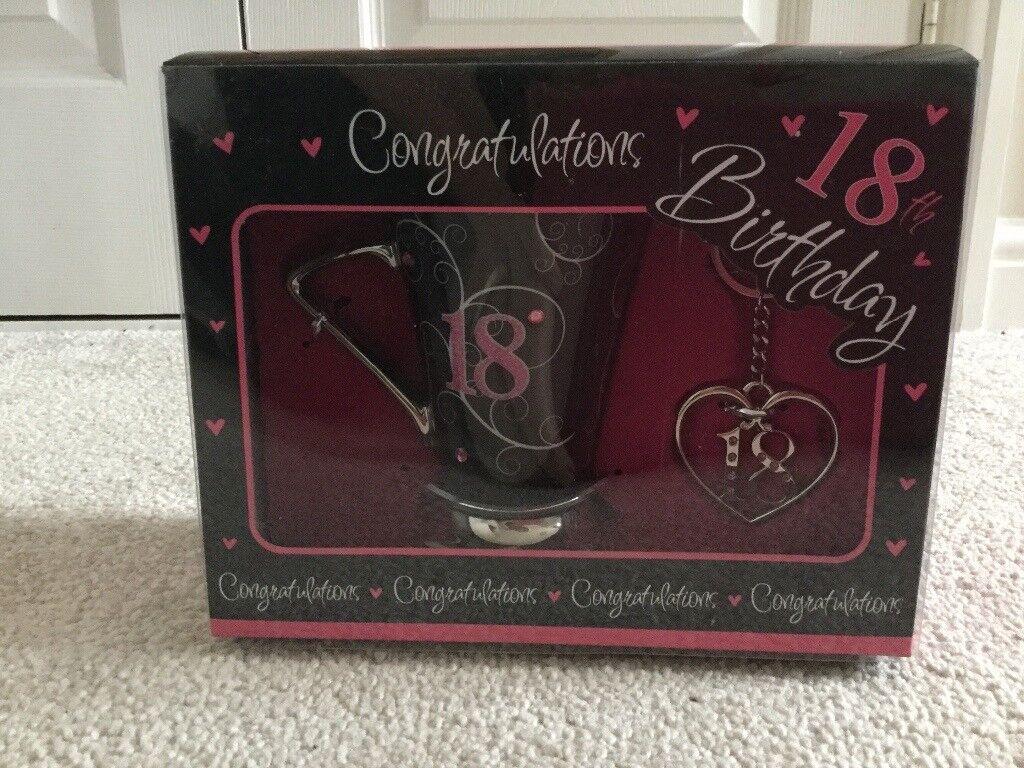 18th birthday gift set