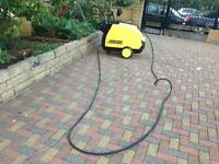 KARCHER HDS 655 HOT/COLD PRESSURE WASHER STEAM CLEANER SERVICED