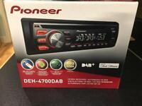 Pioneer DAB car stereo - used but in VG condition