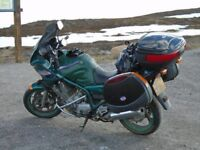 XJ900 S DIVERSION WITH FULL PANNIERS