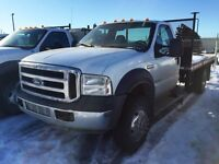 2006 Ford F-550 XLT Regular Cab 4X4 DIESEL DUALLY 12FT DECK VMAC
