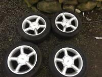 16 inch ford alloys (cosworth style 4x108)