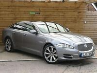 Jaguar Xj 3.0d V6 Portfolio 4dr Auto ONE PRIVATE OWNER (lunar grey metallic) 2012