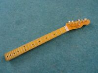 Allparts Lic by Fender Telecaster neck maple 21 fret complete Tele