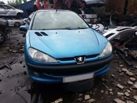 Peugoet 206 Blue 01 / Breaking