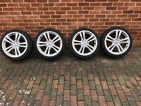 Alloy wheels for Audi A3 18""