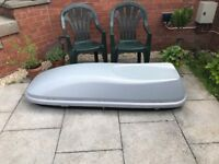 Roof Box needed desperately for holiday with the kids can collect thank-you :-)