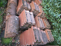 Red Marley roof tiles available to collect now (approx. 800)