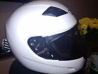 Helmet size M new, one time used, including cover bag £10