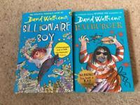 Brand new, Unread David Walliams Paperbacks