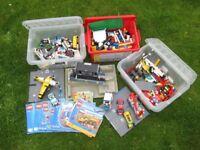 Lego Bundle City Police Station, Fire Station, Hospital, Garage. Creator Planes