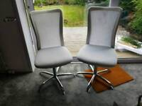 FREE Pair of adjustable height dining or desk chairs