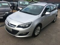 2013/13 Vauxhall Astra 1.7 CDTi ecoFLEX 16v Exclusiv (s/s) 5DOOR 1 KEEPER+£20 TAX+DIESEL ESTATE