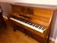 Waldberg Mahogany acoustic Piano