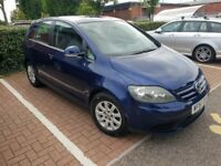 VW Golf Plus Luna 1.9 TDI Very Low Mileage, Long MOT, Great Specs