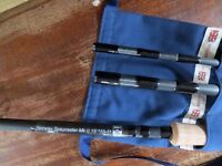 Bruce and Walker Norway Speycaster Mk 2 three piece 10/11# salmon fly rod (new)