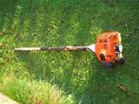 Stihl HL 75 Hedge Trimmer and 0 degree cutter head