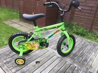 "Boy's 12"" Bike - ages 3-5"