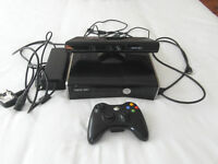 X-BOX 360 with KINECT & Games