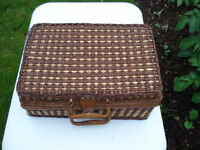 USED PICKNICK BASKET in quite good condition.