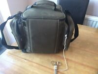 Fox tackle bag with grips attached - used