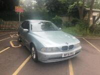 BMW 520I 2.2 SE MANUAL PETROL 4DOOR SALOON GREEN WITH SERVICE HISTROY AND 1 YEAR MOT