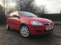 Vauxhall Corsa 1 Litre Petrol Only 42k On Clock Long Mot Cheap To Run And Insure !