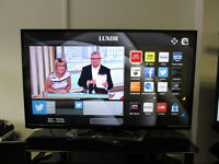 "EX DISPLAY LUXOR 50"" FULL 1080P HD READY LED SMART TV."