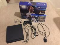 New PS4 Slim 500gb boxed with Fifa 18 and Call of Duty
