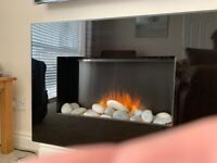 Electric fire (wall mounted)