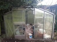 10ft Lond x 8ft 6in Wide Green House