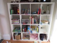 IKEA Expedit/Kallax 4x4 shelving unit for sale