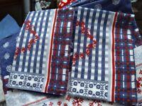 Flannelette/Brushed Cotton Superking Duvet Cover plus Pillowcases